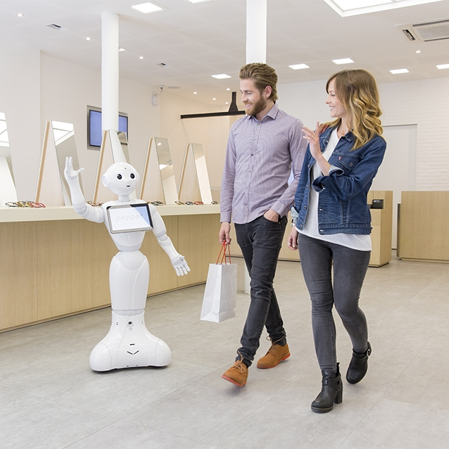 Pepper Robot for retail